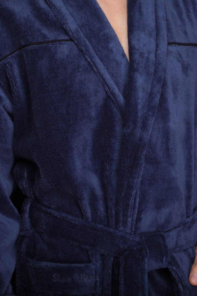 DOLCE (джинс) классический мужской халат