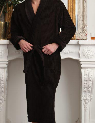 Imperator (Шоколад) классический мужской халат