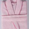 Халат вафельный ALERON (Розовый)