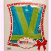 Детский махровый халат Спорт (бирюзовый)