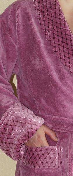 Халат женский NUSA,Турция (Soft Microfiber) NS 3640