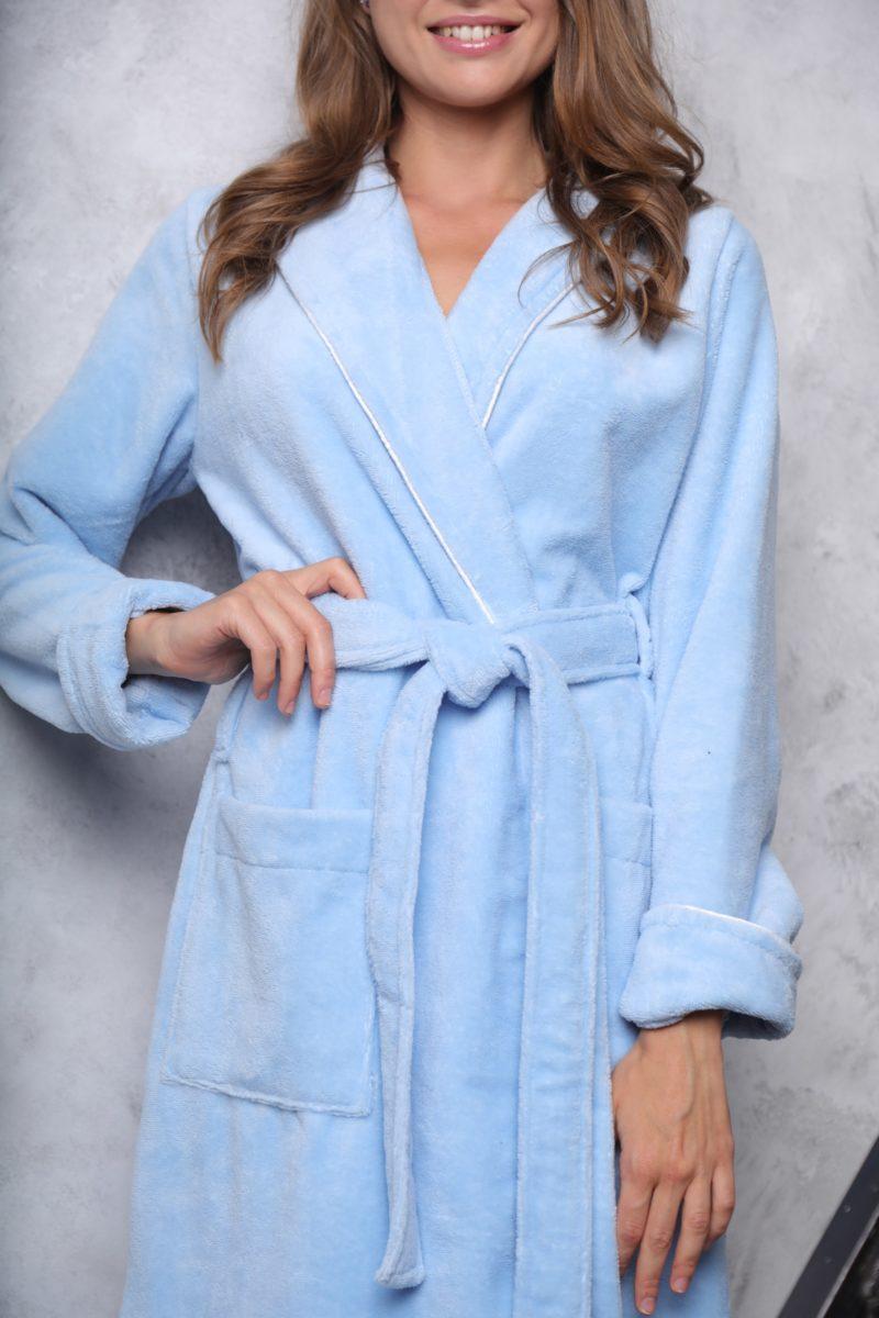 Leticia(арктик)женский махровый халат