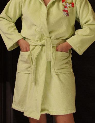 Подростковый махровый халат Сheerleader, NUSA, Турция