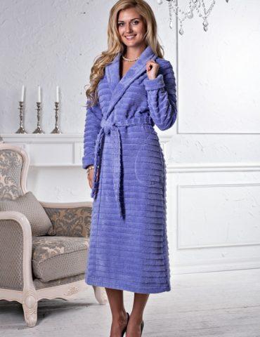 Tiffany (Фиалка) женский халат микрокоттон