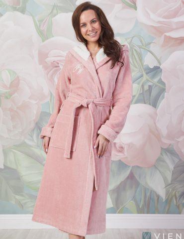 Violetta (пудра) женский мягкий халат