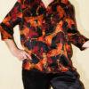 Женская шелковая пижама, сорочка S2