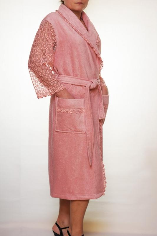 Женский бамбуковый халат LIGHT, Турция, NUSA NS-3745