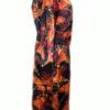 Женский шелковый халат из натурального шелка S1