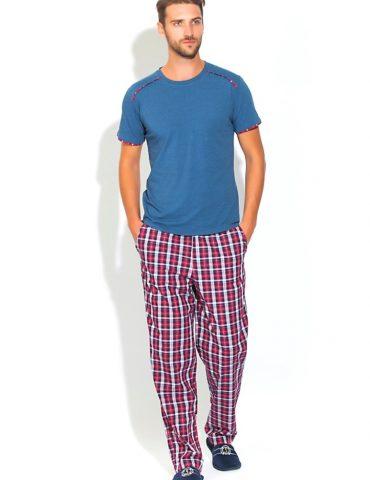 Домашняя пижама BOSS (синий-меланж)