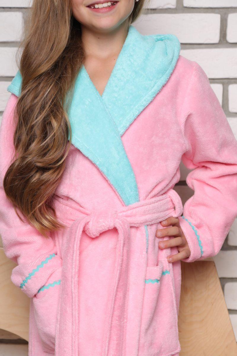 Mimi подростковый халат (розовый)