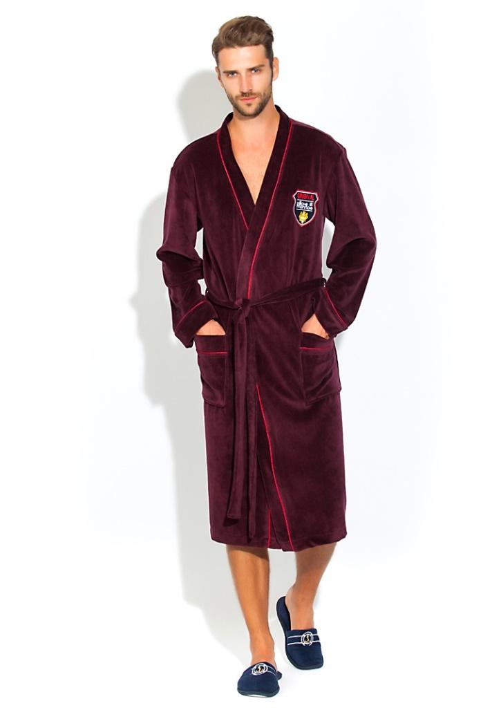 Велюровый халат VELVET 1