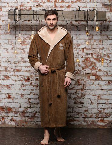 Wien Club (табак) мужской бамбуковый халат