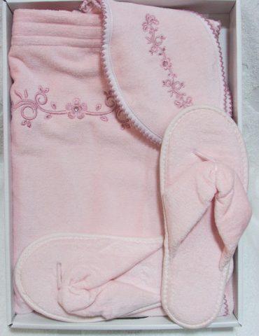 Женский набор для сауны BELLA (розовый)