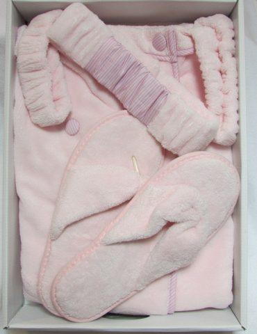 Женский набор для сауны SKIRT (розовый)