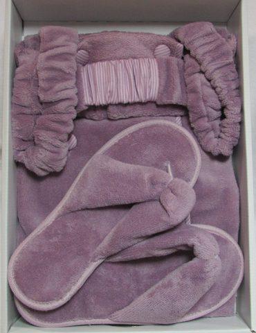 Женский набор для сауны SKIRT (фиолетовый)