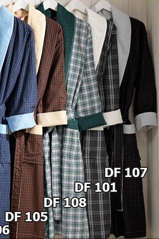 Cатиновый халат ТАС DF-101