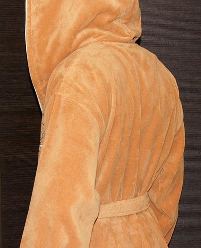 Lamar (песочный) мужской махровый халат