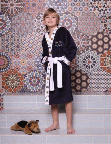 Puppy (Navy) детский халат