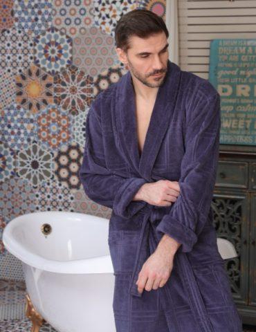 Comfort (Ocean) классический мужской халат