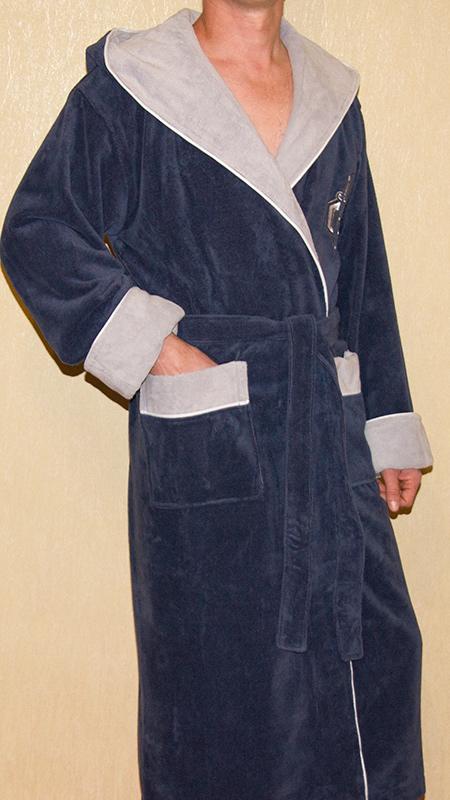 GLADIATOR (джинс) мужской халат