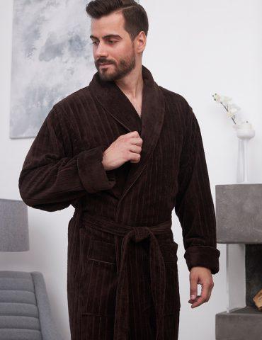 Lomond (Chokolate) классический мужской халат