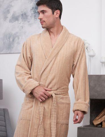 Lomond (Latte) классический мужской халат
