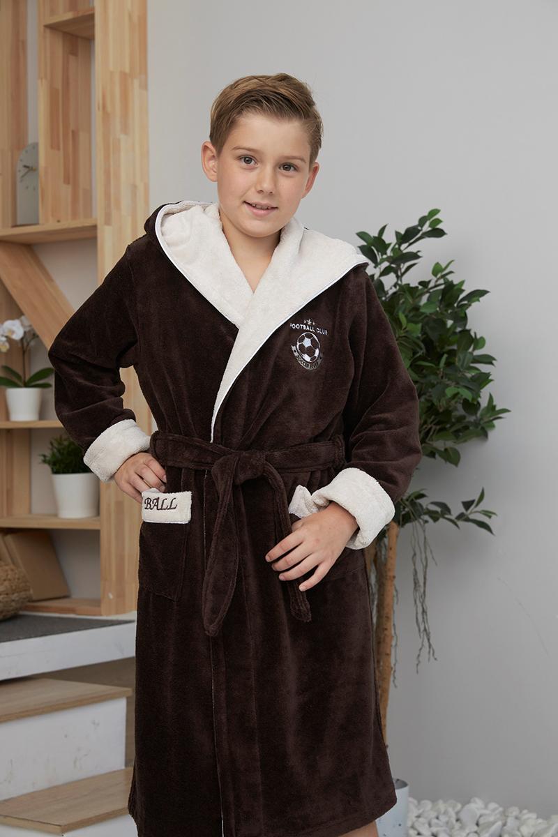 Ronaldo (Mocaccino) подростковый бамбуковый халат