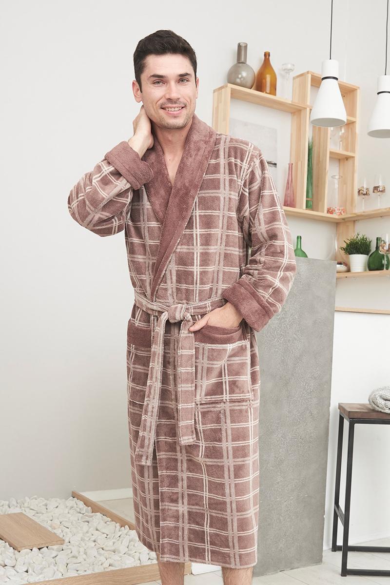 Stockholm (Mokko) мужской бамбуковый халат