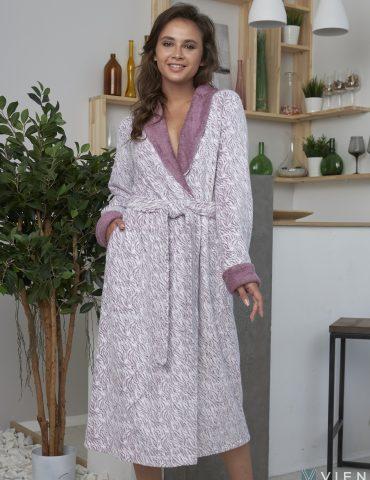 AURELIA (сухая роза) женский махровый халат