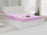 Простынь махровая нарезинке 2 сп. (220х240 см) розовый
