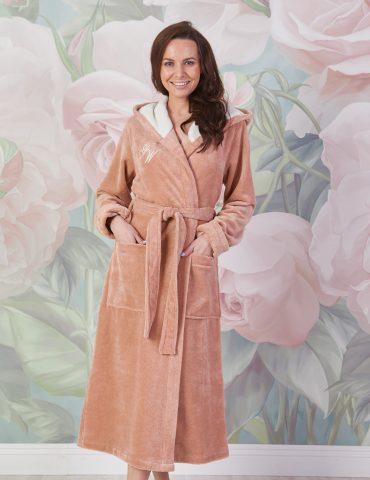 Violetta (латте) женский мягкий халат