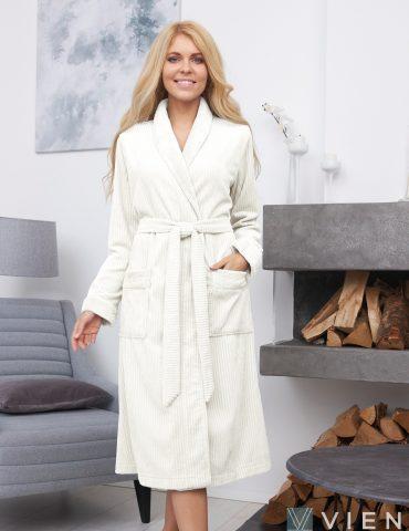 VERONA (Крем) женский махровый халат