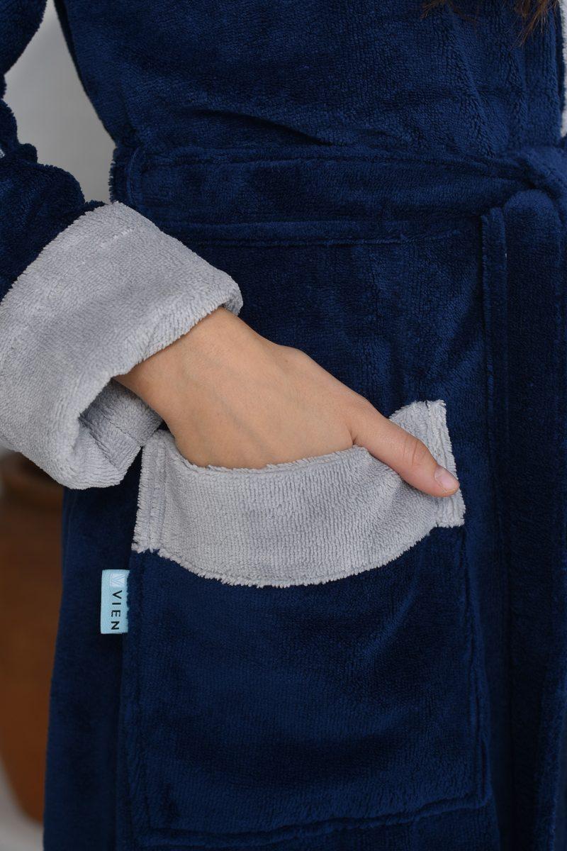 ATHLETIC LADY (Denim) женский халат