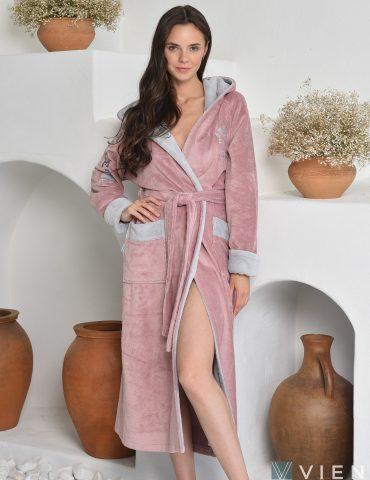 ATHLETIC LADY (Pudra) женский халат