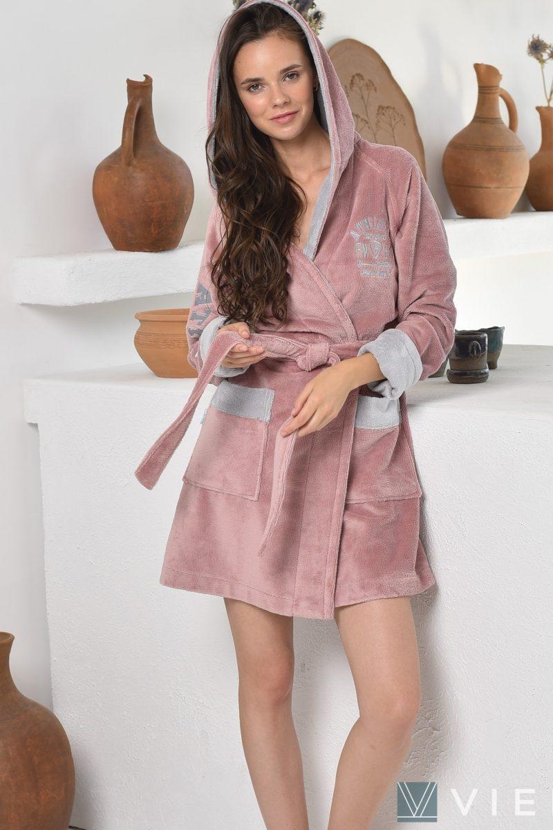 ATHLETIC Light (Pudra) женский халат