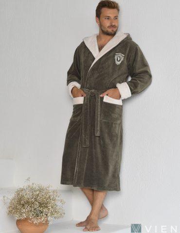 NEVADA (mokko) Мужской махровый халат