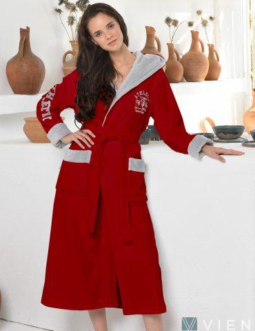 ATHLETIC LADY (Red) женский халат