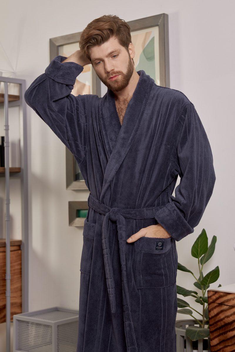 CRISTOPHER (Denim) мужской махровый халат