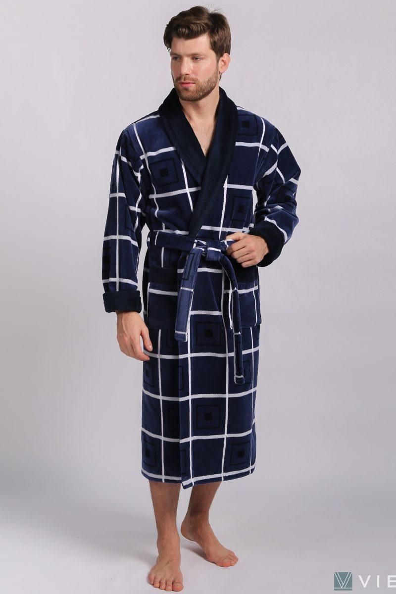 LUX COTTON (2101) Мужской махровый халат