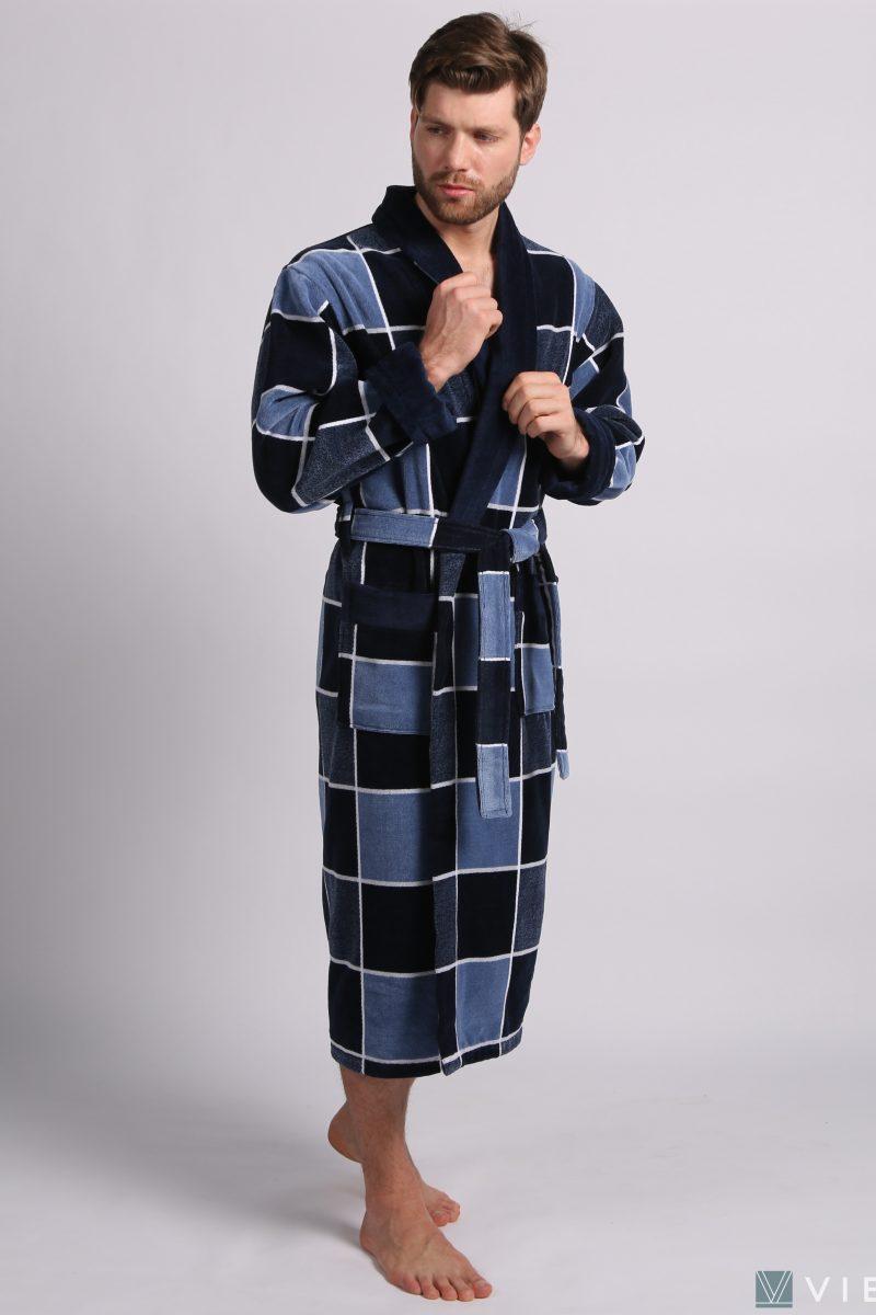 LUX COTTON (2103) Мужской махровый халат