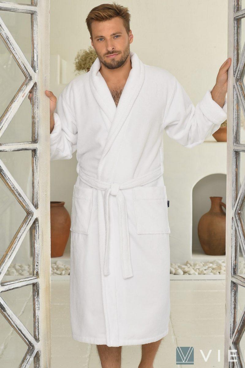 LORD (white) мужской махровый халат
