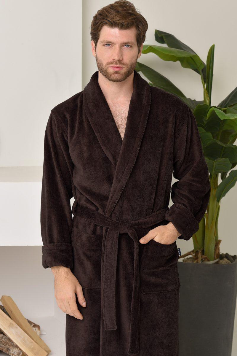 LORD (chokolate) мужской махровый халат